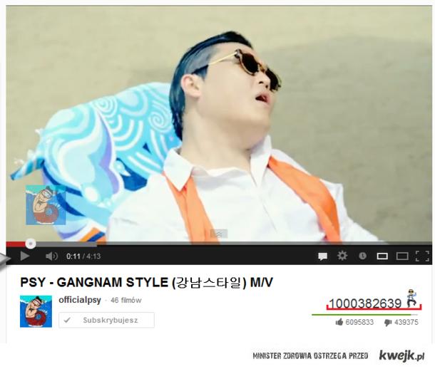 Miliard Wyświetleń - PSY - Gangnam Style