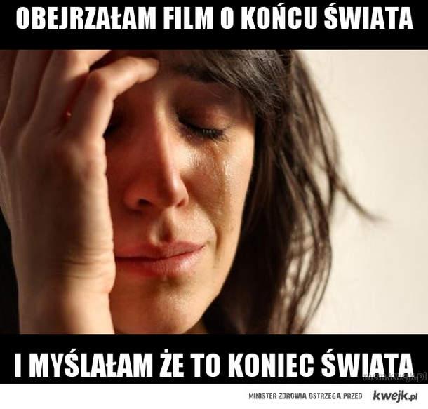 obejrzałam film o końcu świata