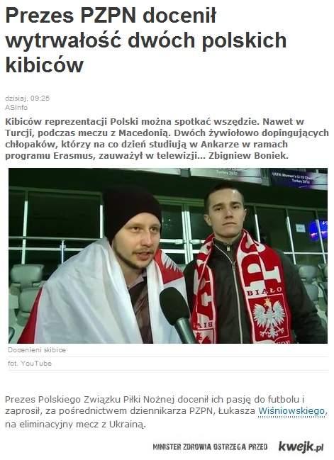 Najlepsi polscy kibice
