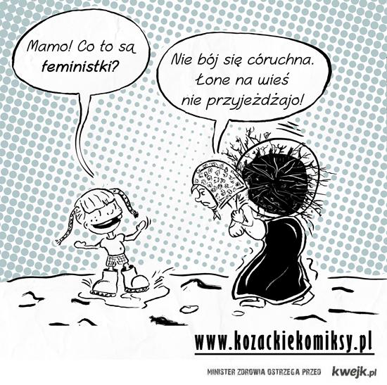 Komiks o feminstkach