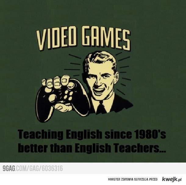 Gry: Uczą Angielskiego Od 1980