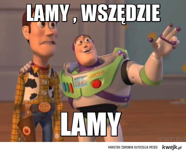 Lamy , wszędzie