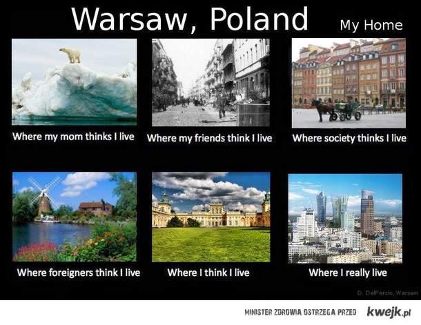 Warszawa obcokrajowca