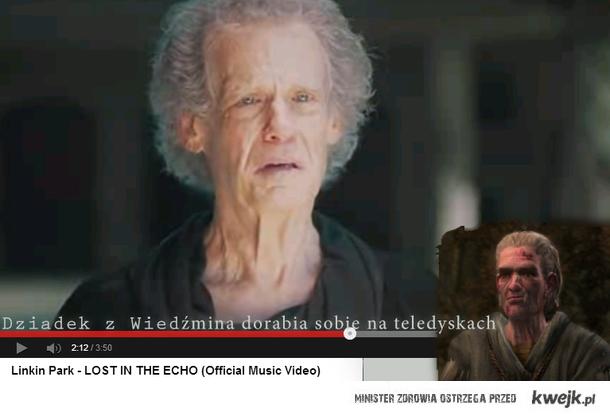 Dziadek z Wiedźmina dorabia sobie na teledyskach