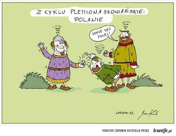 Polanie - etymologia według Wiesława