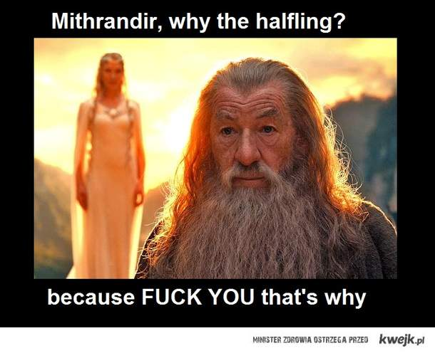 Why the halfling?