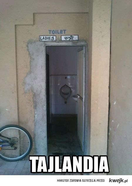 toaleta dla kobiet