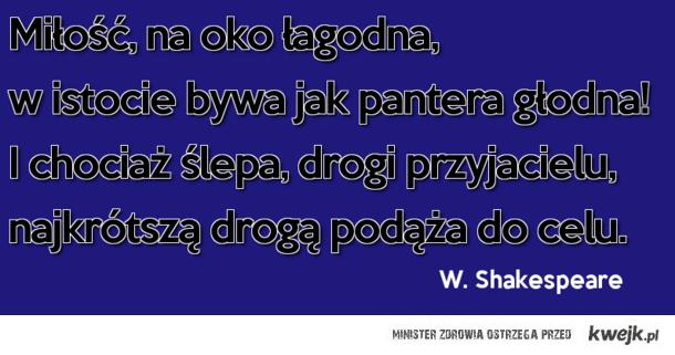 Miłość. William Shakespeare
