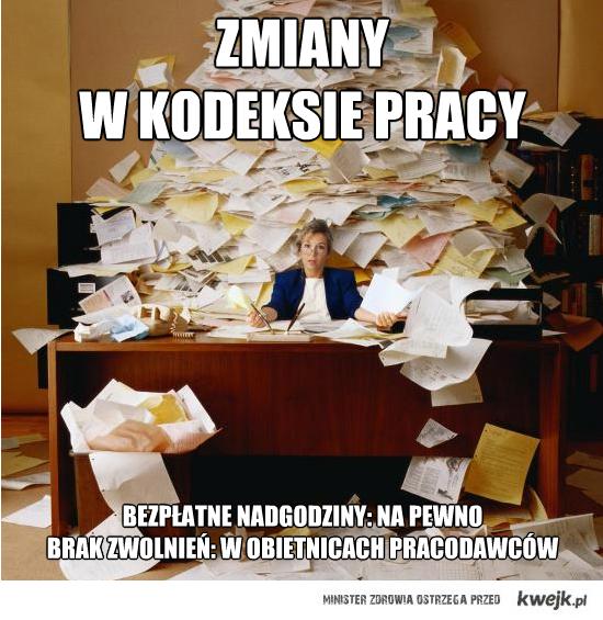 Nowy kodeks pracy