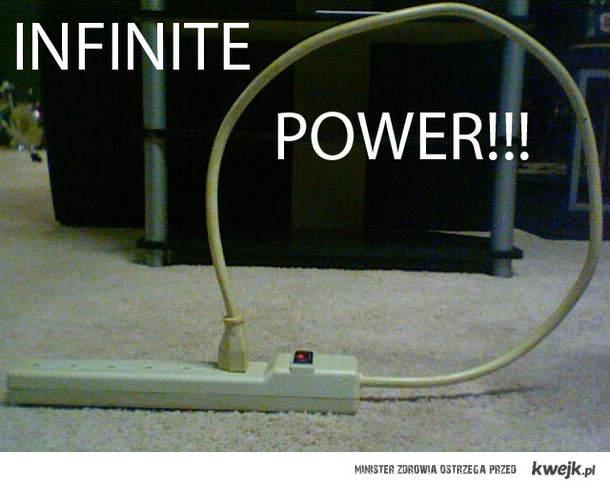 nieskonczona moc