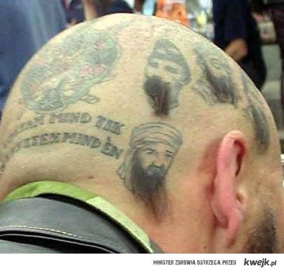 bardzo madry tatuaz