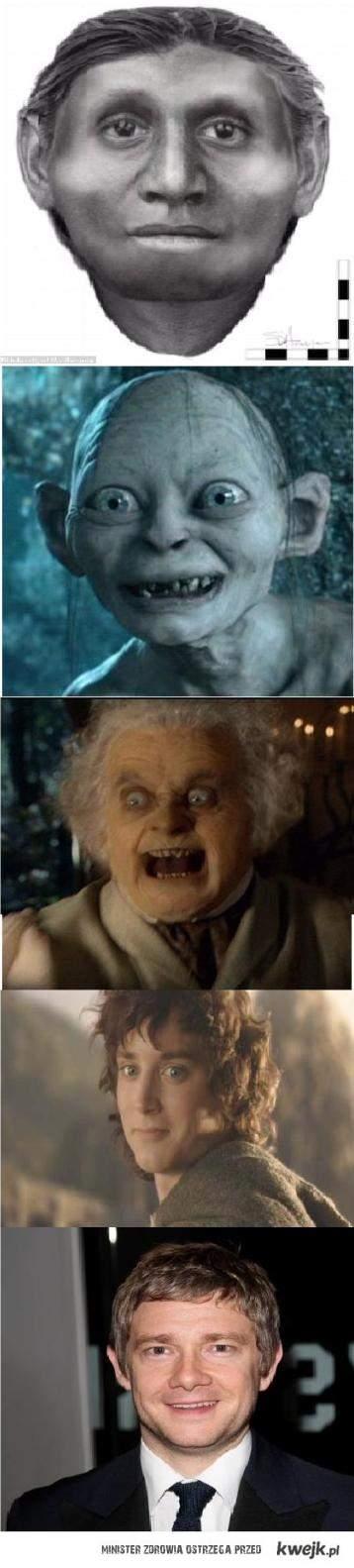 przemiany hobbita