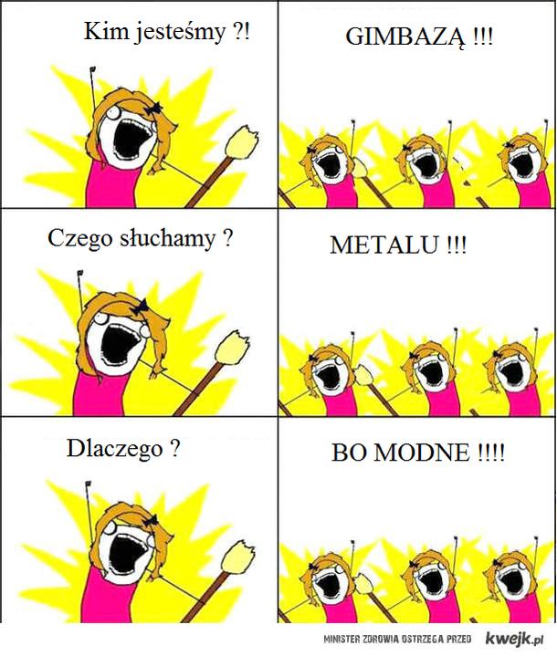 Metal - bo modne.