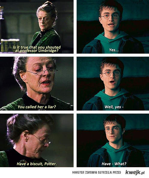 Profesor McGonagall rządzi