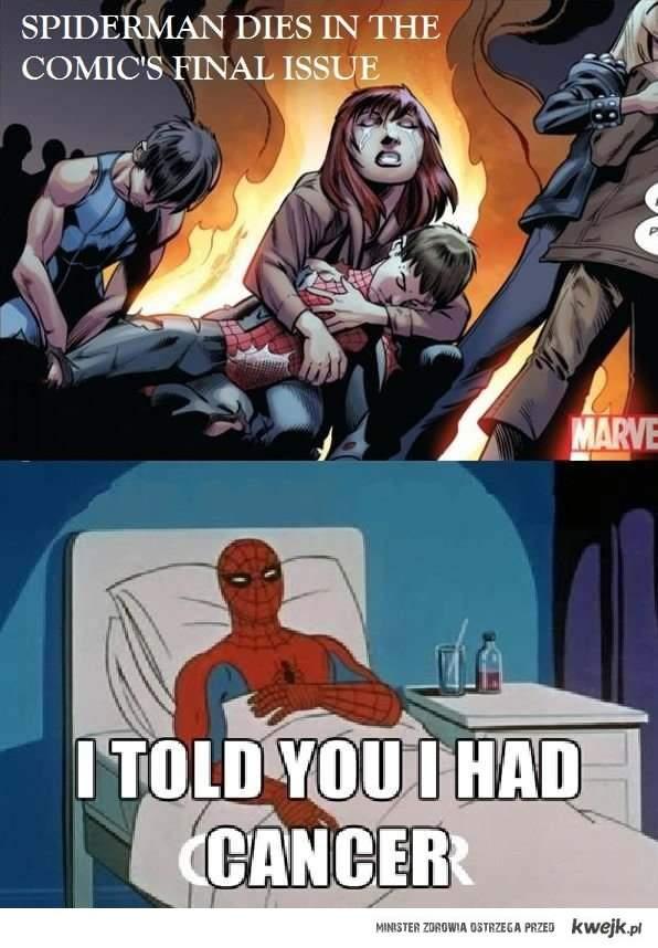 rip spiderman