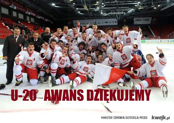 Awans u-20 Hokej GOLD MEDAL