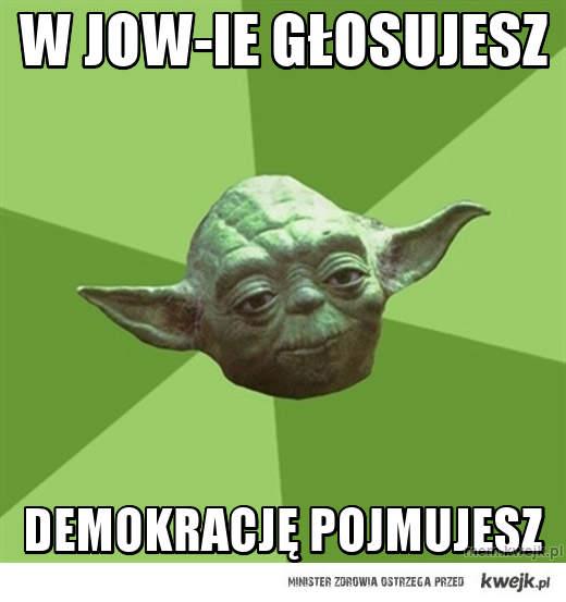 W jow-ie głosujesz