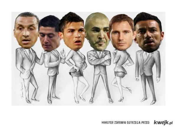 Piłkarze.