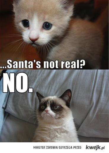 Mikołaj nie istnieje ?