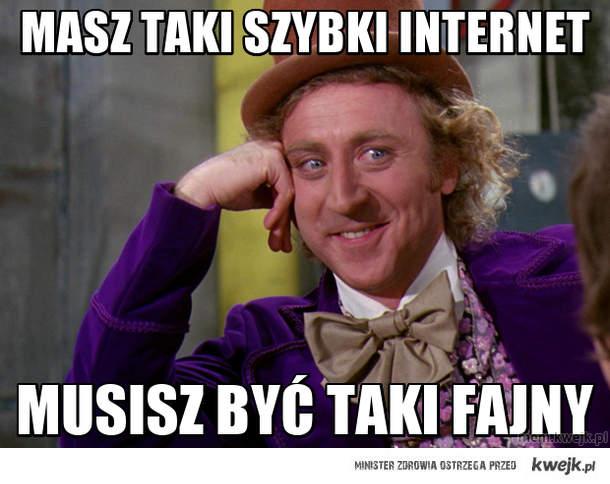 Masz taki szybki internet