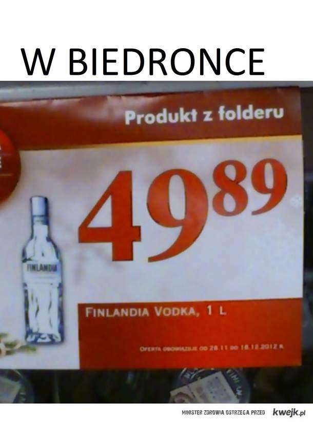 Finlandia w Biedronce