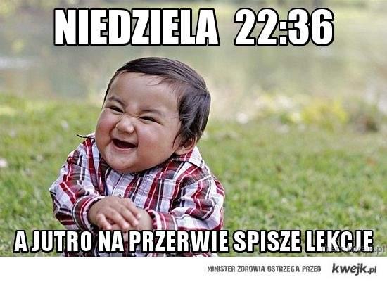 niedziela  22:36