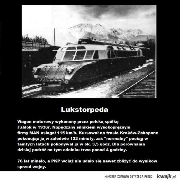 Polskie Koleje przed wojną