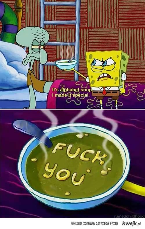Trolling soup