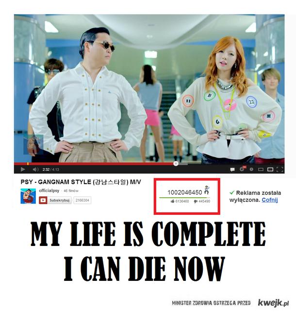 Pierwszy miliard na youtubie ;)