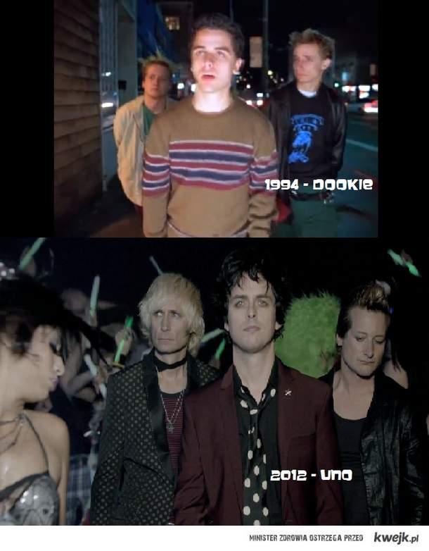 Green Day kiedyś i dziś