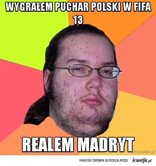 Wygrałem puchar polski w fifa 13