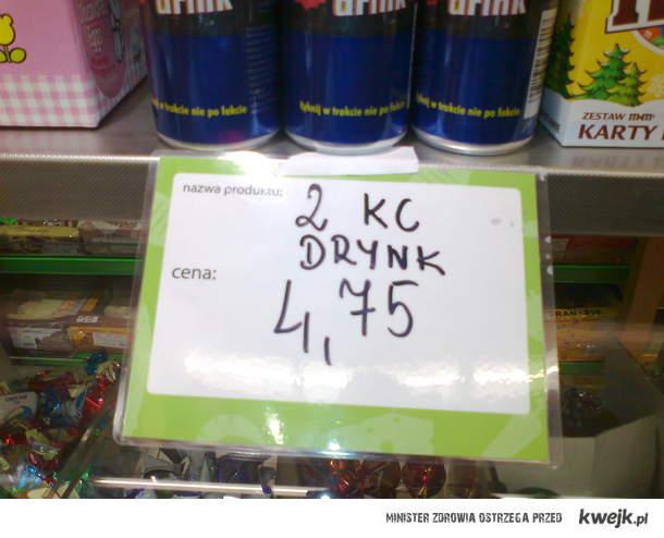 Delikatesowy drynk
