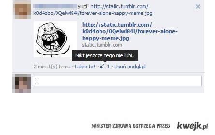 facebook alone