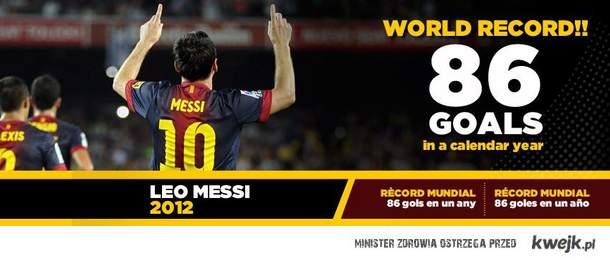 Messi Mistrz !