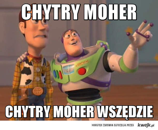 Chytry moher