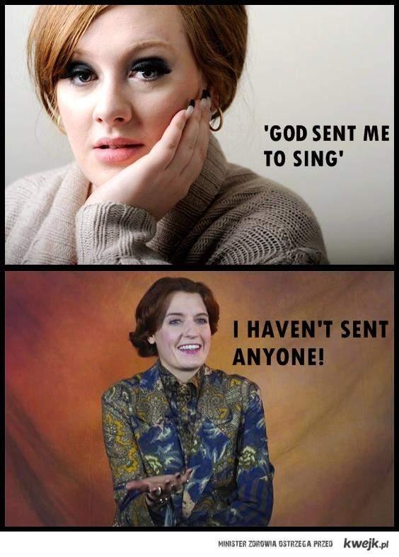Florence vs Adele