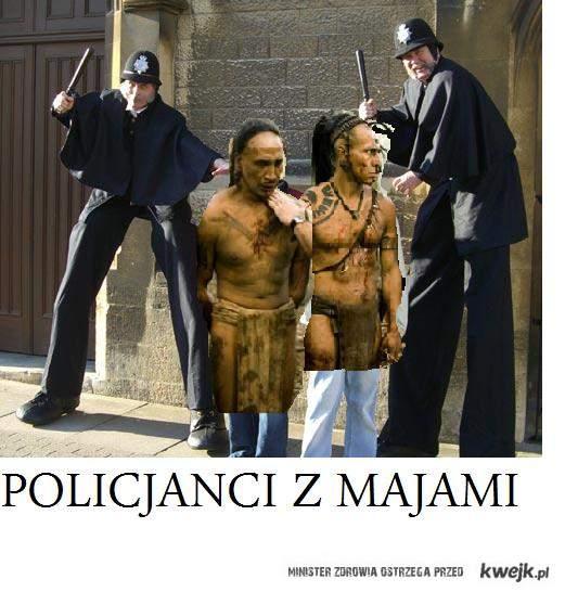 Policjanci z Majami