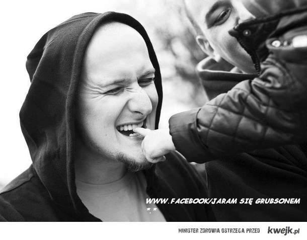 Jaram się Grubsonem *.* /FACEBOOK