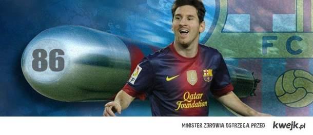 Messi torpeduje historie