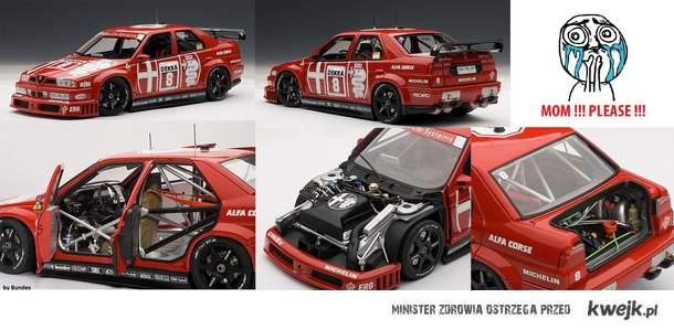 Alfa 155 DTM model