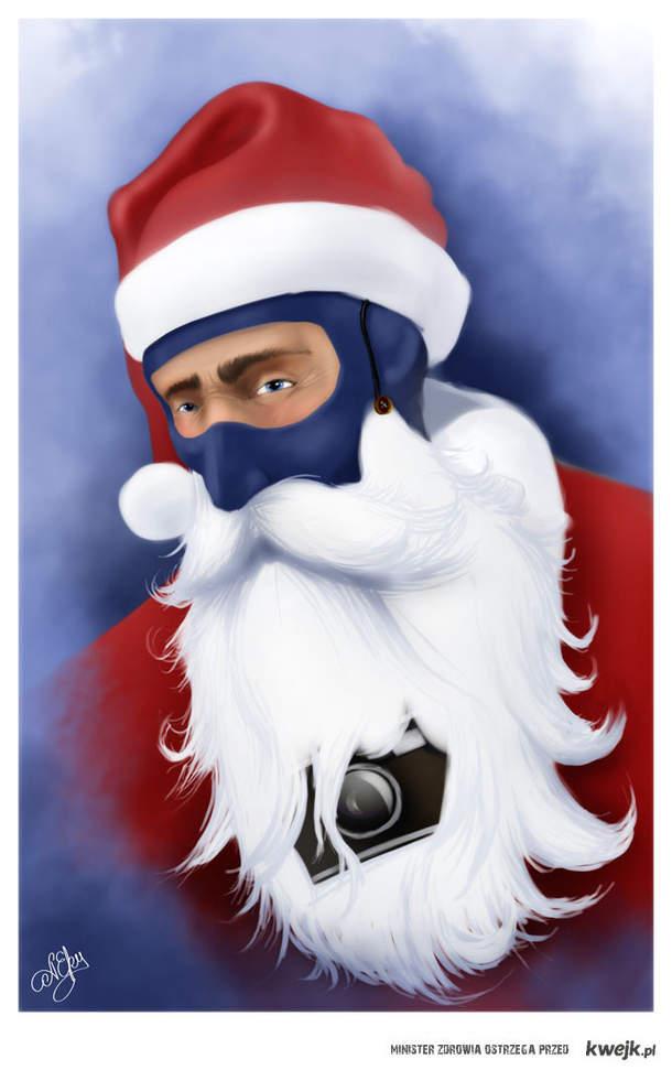 Spy Santa