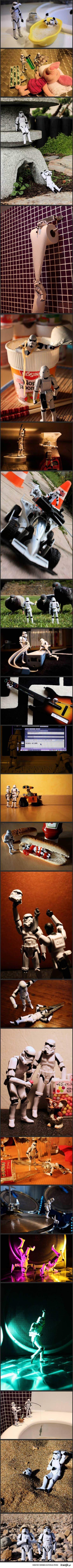 Ciężkie życie stormtroopera
