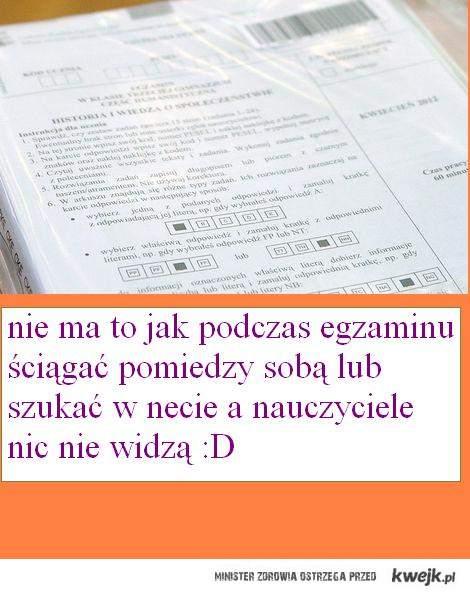 próbny egzamin gim