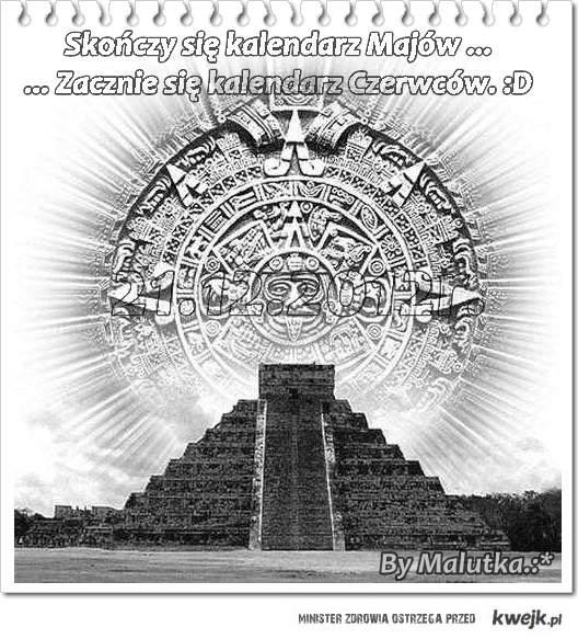 Kalendarz Majów... ;)