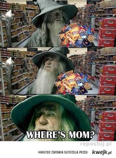 where's mom?!