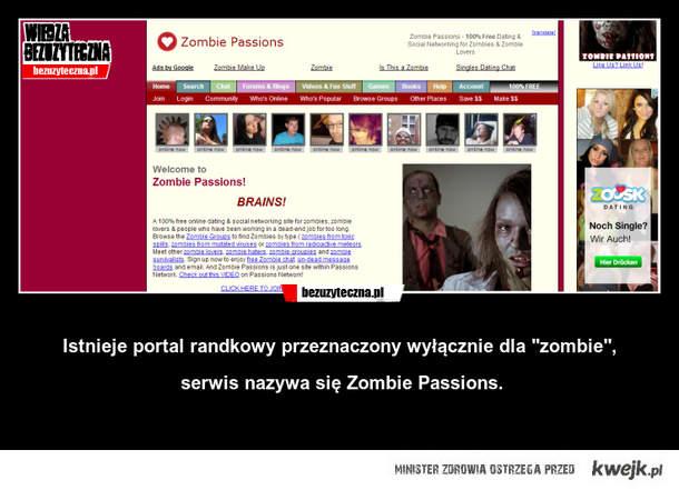 portal społecznościowy dla zombie