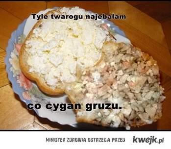 kanapki z gruzem