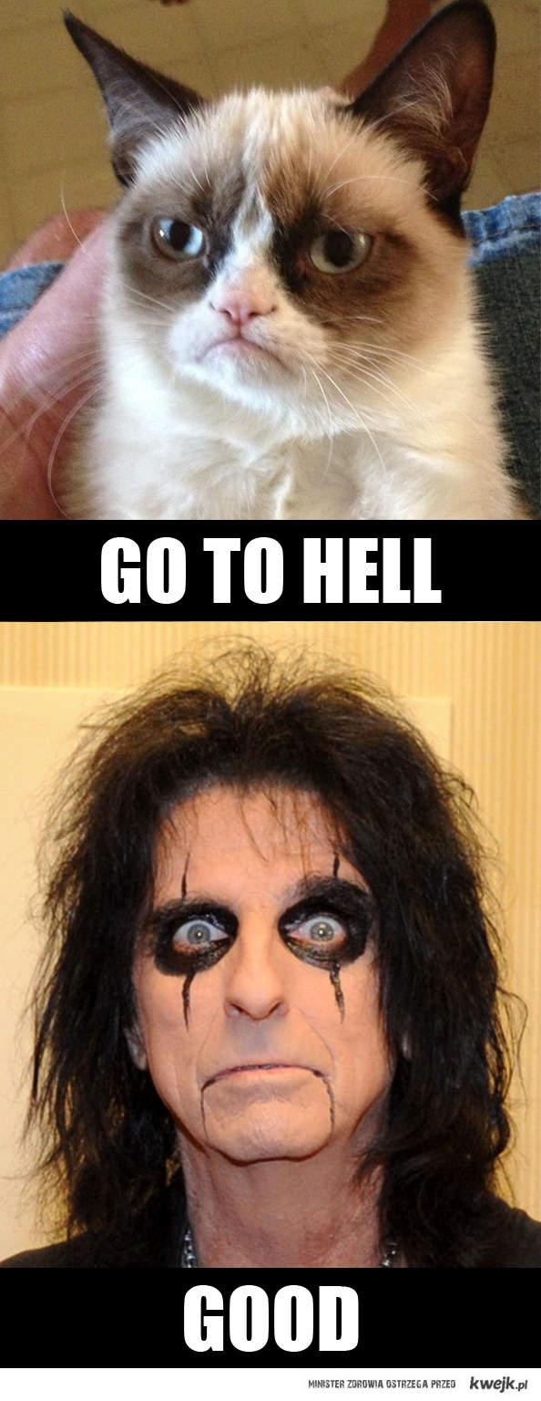 Grumpy Alice Cooper