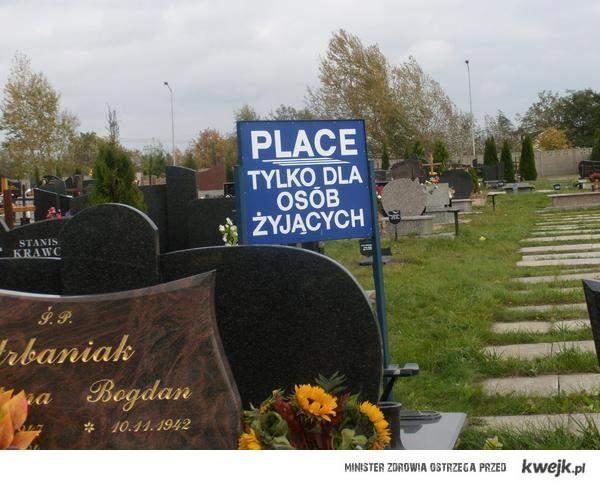 Cmentarz tylko dla żyjących