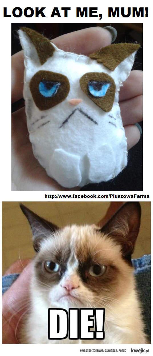 Pluszowy grumpy